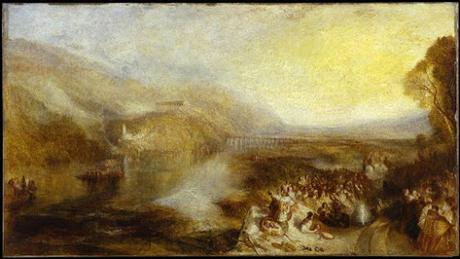 L'inauguration du Walhalla. Un article de 1842. Le tableau et le poème de William Turner.