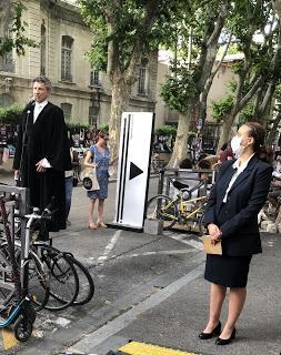 Avignon le 10 juillet à l'Atelier 44, au 11 et à la Conditions des Soies