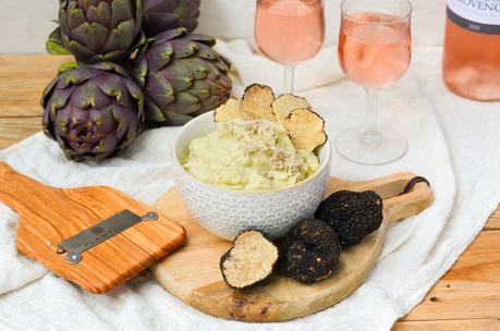 Caviar d'artichaut à la truffe d'été