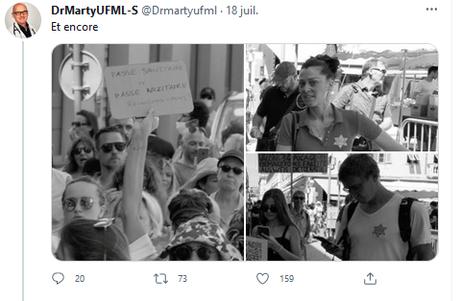Les manifestations contre le passeport sanitaire manipulées par l'extrême-droite