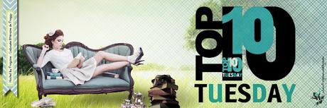Top 10 Tuesday #91 Vos 10 dernières lectures que vous avez côtés de 4/5 ou 8/10 ou 16/20 et plus