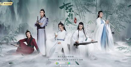 la série TV  The Untamed en Chine