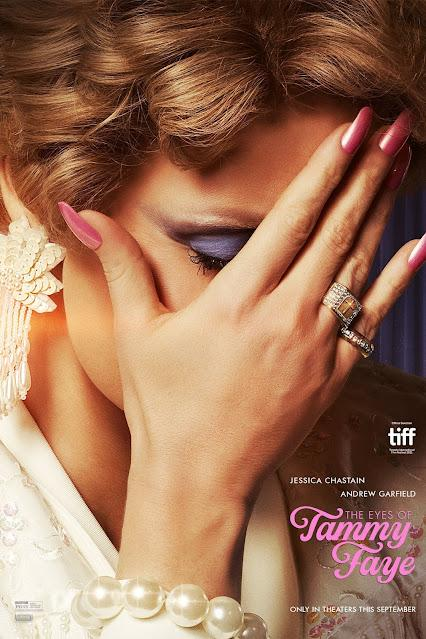 Affiche US pour The Eyes of Tammy Faye de Michael Showalter