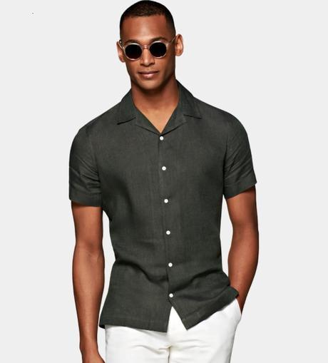 Chemise à manches courtes : le guide homme