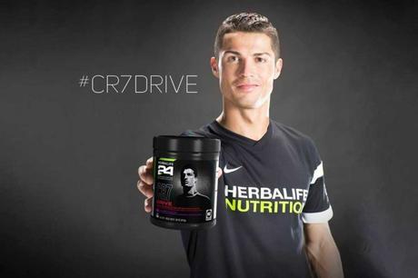 Cristiano Ronaldo avec Herbalife Nutrition