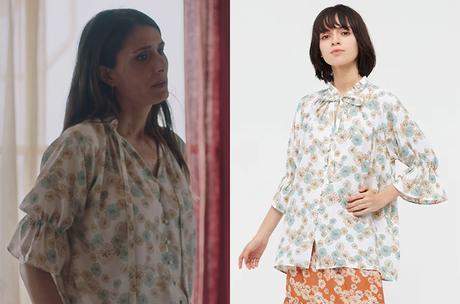 ICI TOUT COMMENCE : la chemise fleurie d'Alice dans l'épisode 189