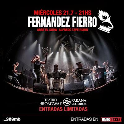 La Fernández Fierro fête ses vingt ans ce soir au Teatro Broadway [à l'affiche]
