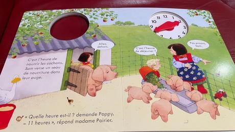 Heather Amery / Poppy et Sam : Lire l'heure