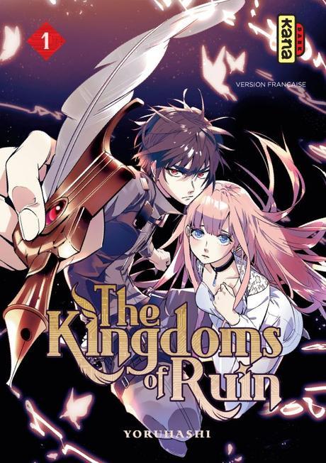 Avis Mangas : Levius Est Vol.8 et The Kingdoms of Ruin T1