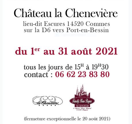 Gilles Sacksick  -Exposition Château La Chenevière (Calvados)
