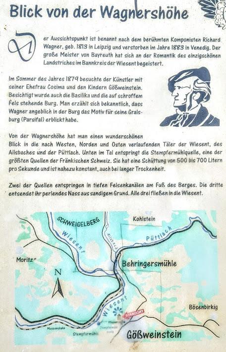Sommer 1879 / Été 1879 — Wagner in Gößweinstein — Richard et Cosima Wagner visitent Gößweinstein