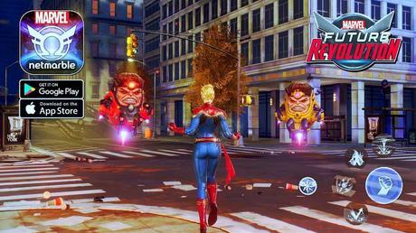 L'univers des jeux vidéo est le nouvel environnement de Marvel Future Revolution