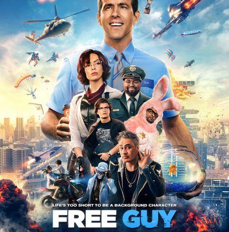 #CINEMA - FREE GUY - Découvrez un extrait du film avec Ryan Reynolds et Jodie Comer !