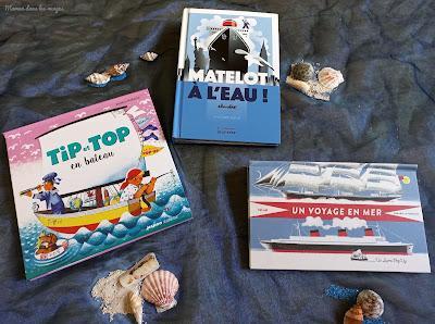 Maman, les p'tits bateaux... {sélection de livres}