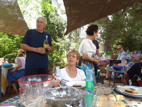 Pique-nique au Mas Baux à Canet en Roussillon