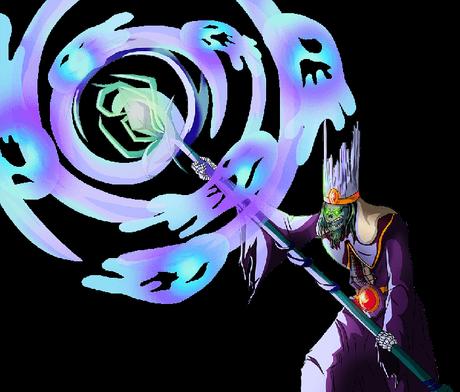 Cellule d'animation d'un assistant monstre.
