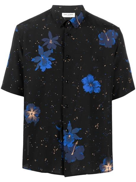 Image 1 of Saint Laurent floral speckled shirt