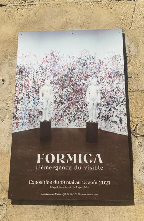 Arles –   Exposition du Méjan « L'émergence du visible »  Jean Pierre FORMICA- chapelle du Méjan –