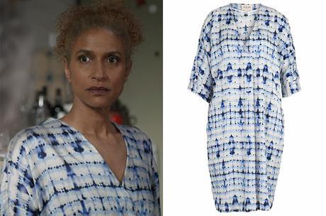 UN SI GRAND SOLEIL : la robe décontractée avec effet aquarelle de Mo dans l'épisode 700