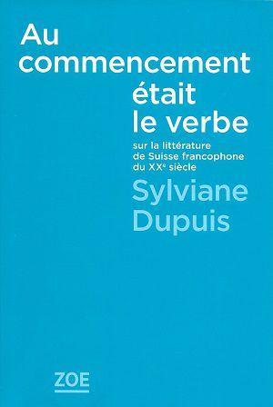 Au commencement était le verbe, de Sylviane Dupuis