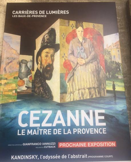 Les carrières de Lumières – Les Baux-de-Provence- « Cezanne « – Le Maitre de la Provence »