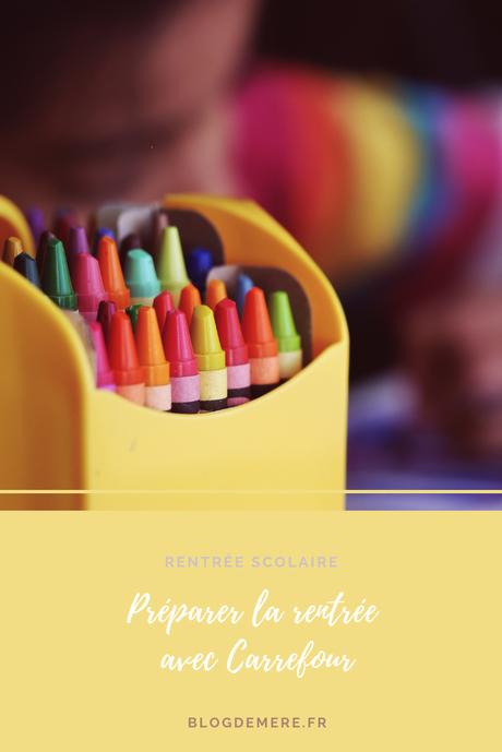 Préparer la rentrée scolaire avec Carrefour