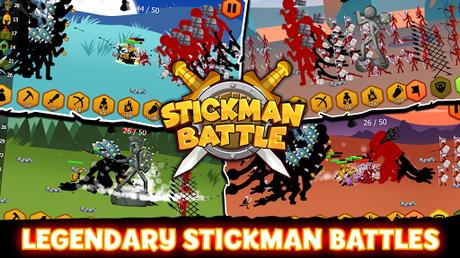 Télécharger Stickman Battle 2021: Stick Fight War  APK MOD (Astuce) 1