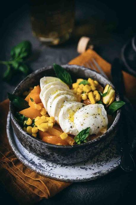 tomates jaunes, recette des vacances, cuisine d'été