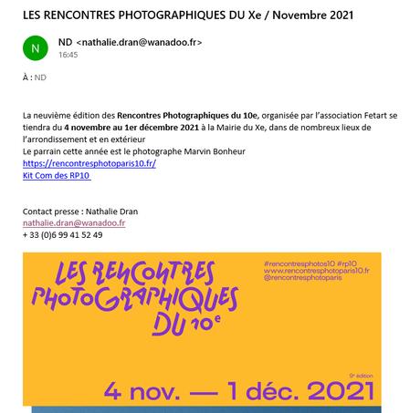 Actualités Photographiques – Festival Circulation(S)