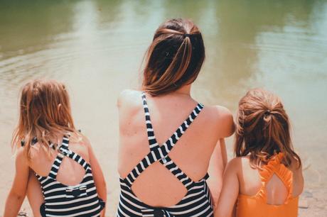 Des maillots de bain mère fille avec  Les pas petits !