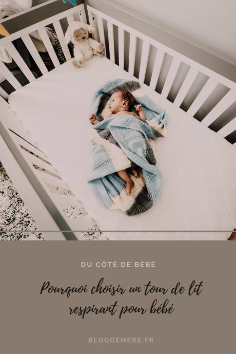 Un tour de lit respirant pour bébé