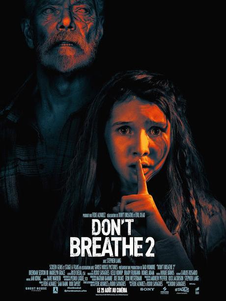 Nouvelle affiche FR pour Don't Breathe 2 de Rodo Sayagues