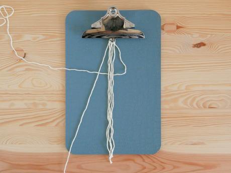 technique nouage corde macramé objet suspendu facile