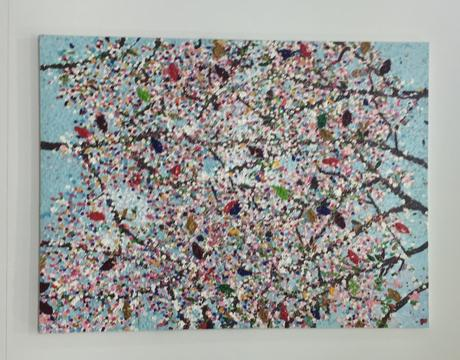 Fondation Cartier pour l'Art Contemporain « Damien HIRST » Cerisiers en fleurs