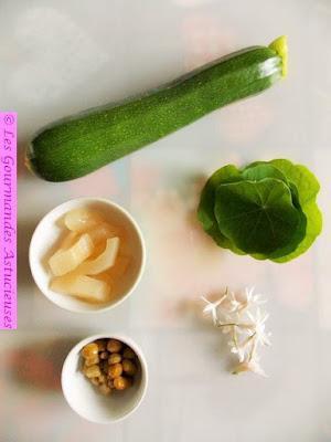 Tartare de courgette (Vegan)
