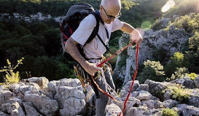 Pour moi, l'escalade est une école de vie.