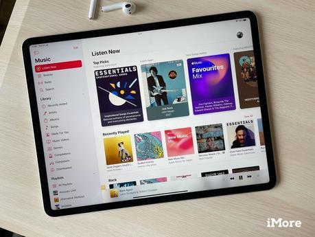 Apple Musique iPadOS