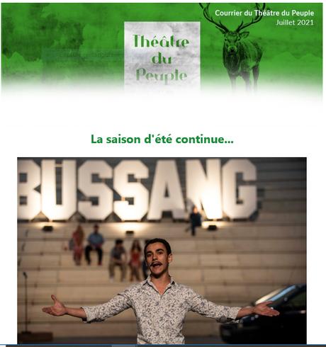 Théâtre du Peuple à Bussang (Vosges)