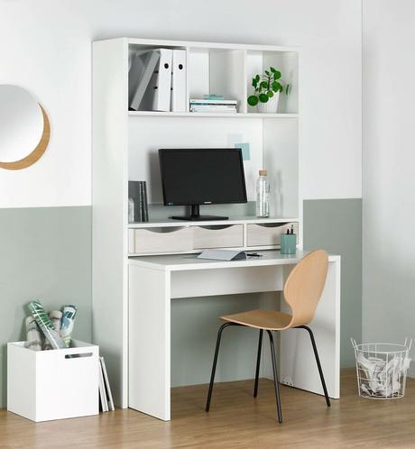 bureau modulable salon espace de travail éco-responsable