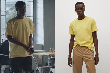 DEMAIN NOUS APPARTIENT : le t-shirt jaune de Souleymane dans l'épisode 970