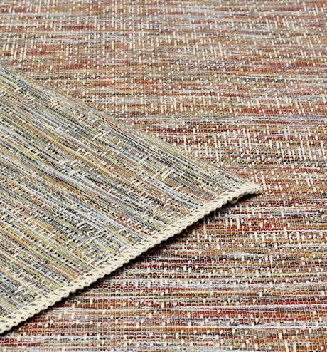tapis extérieur rond Serge Lesage multicolore