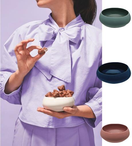 table estivale vaisselle pastel assiette creuse ronde original