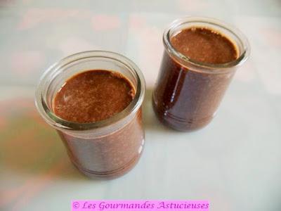 Pudding de chia choco-matcha-monarde (Vegan)