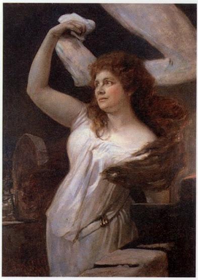 Bayerische Staatsoper — Therese Vogl / Isolde — Weiser pinx.