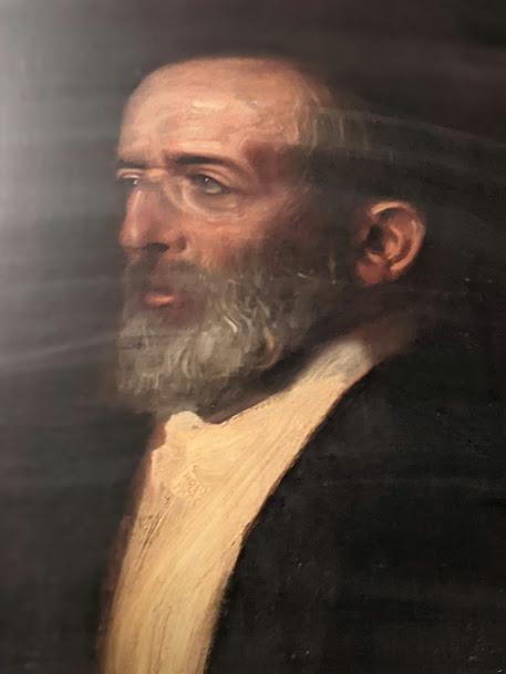 National Theater München — Hermann Levi — F. v. Stuck pinx.
