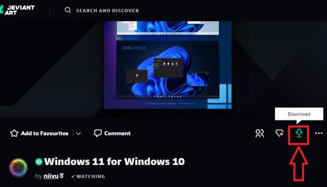 Faire ressembler Windows 10 à Windows 11