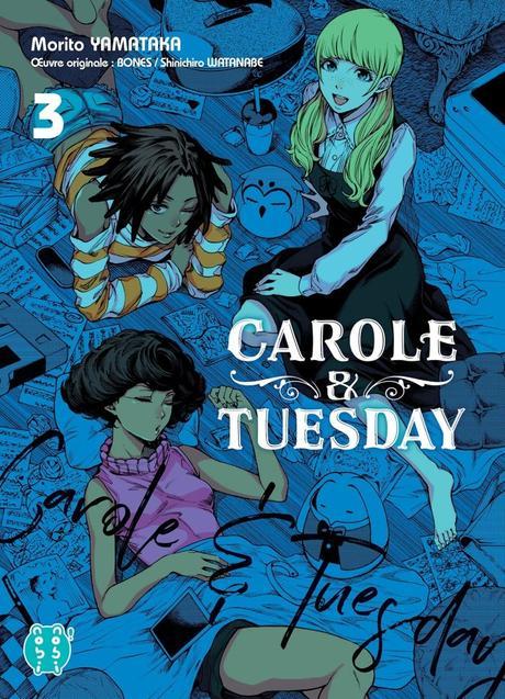 Avis Mangas : Kaguya-sama : Love is War T04 et Carole & Tuesday T03