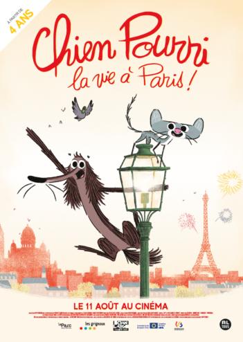 CINEMA : «Chien Pourri, la vie à Paris !» de Davy Durand