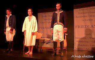 Napoléon, la nuit de Fontainebleau, de Philippe Bulinge, mise en scène par Maude et Philippe Bulinge