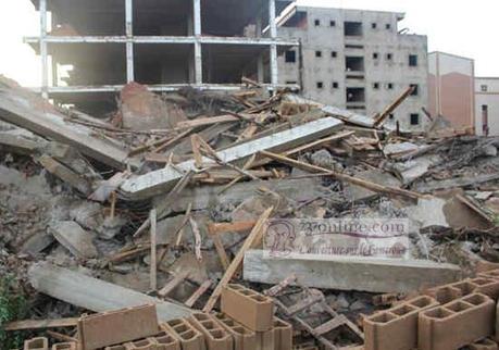 Le Cameroun dans l'étau de l'effondrement des maisons